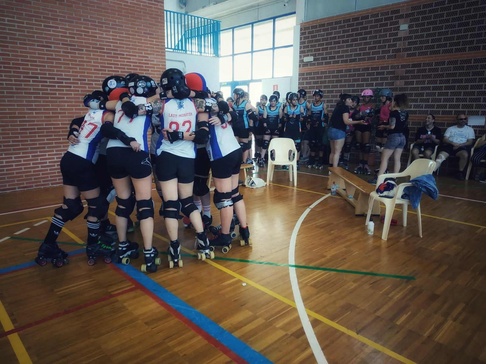 Segunda xornada da Liga Galega de Roller Derby de novo en pistas herculinas / AS BRIGANTIAS