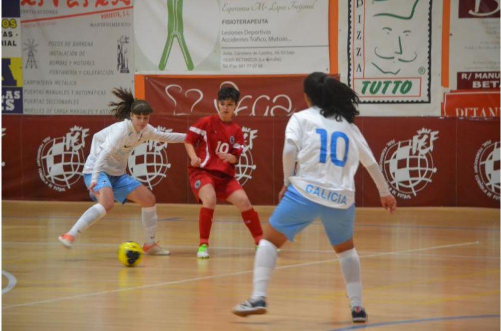 selección galega sub19 contra Madrid