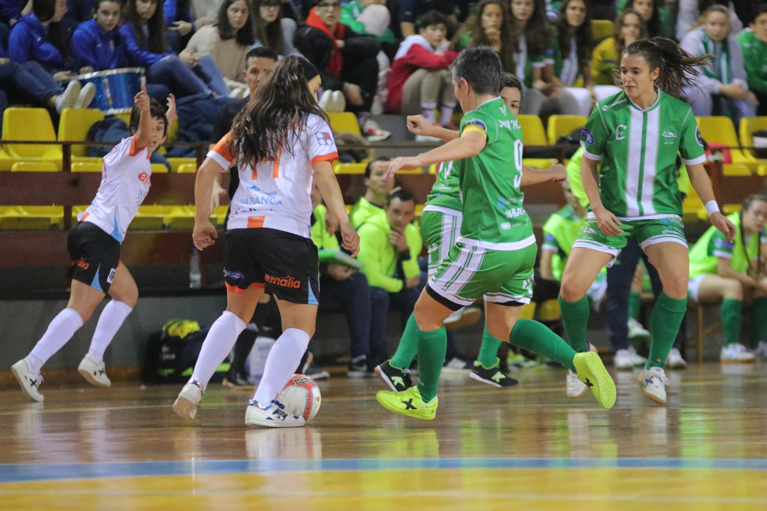 David Martínez / Ourense Envialia contra Cidade de As Burgas na xornada 14