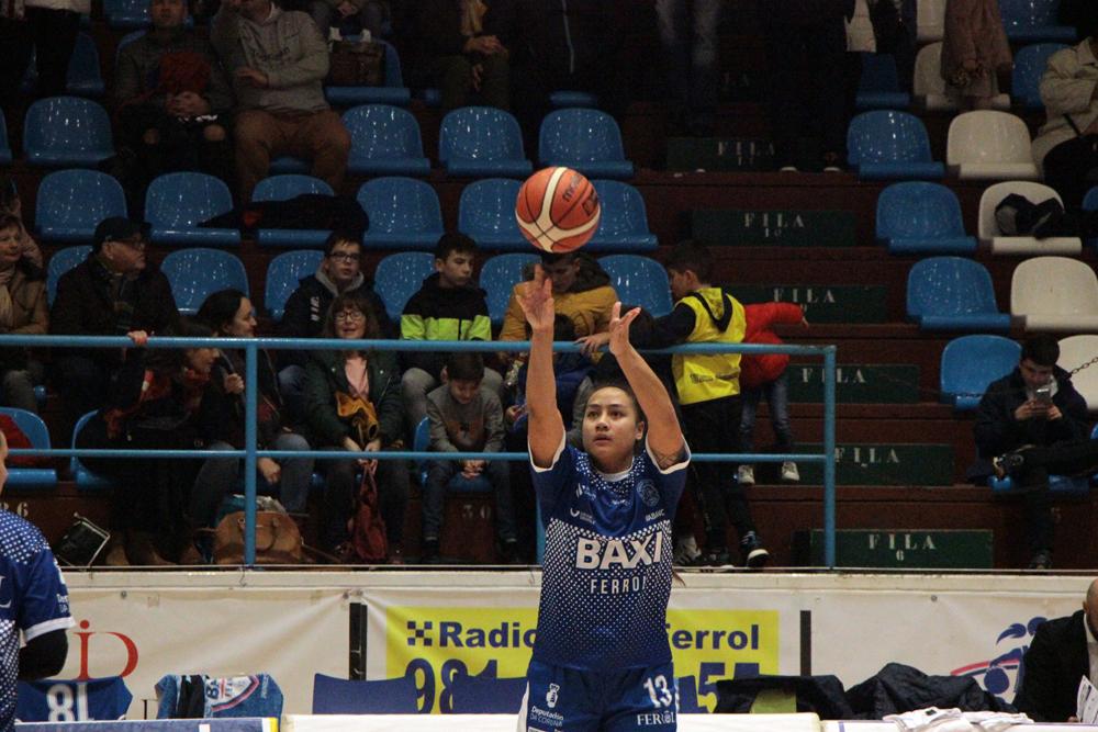 Geraldynn Leaupepe. xogadora do Baxi Ferrol / WYKAZSZKOWSKI