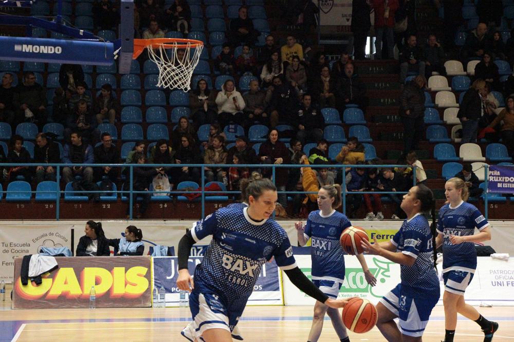 Sune Swart, xogadora do Baxi Ferrol / WYKAZSZKOWSKI