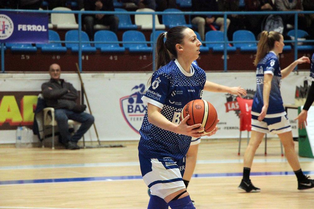 Tamara Kapor, xogadora do Baxi Ferrol / WYKAZSZKOWSKI
