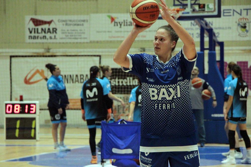 Jenna Allen, xogadora do Baxi Ferrol / WYKAZSZKOWSKI