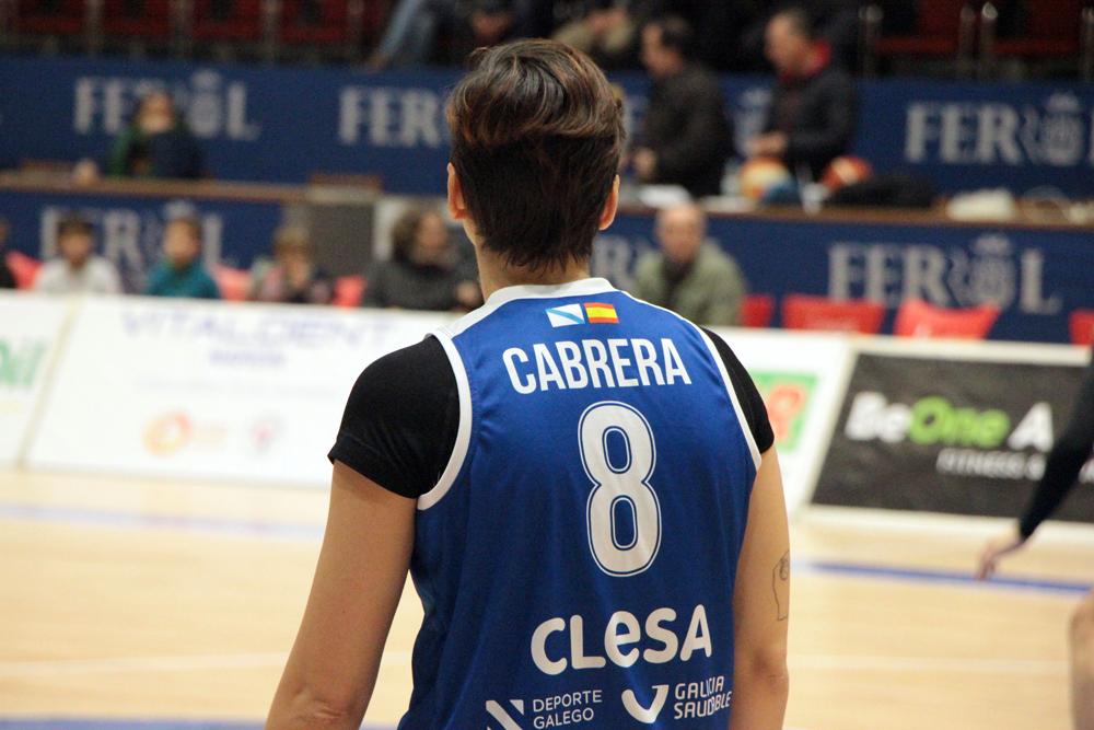 Patri Cabrera, xogadora do Baxi Ferrol / WYKAZSZKOWSKI