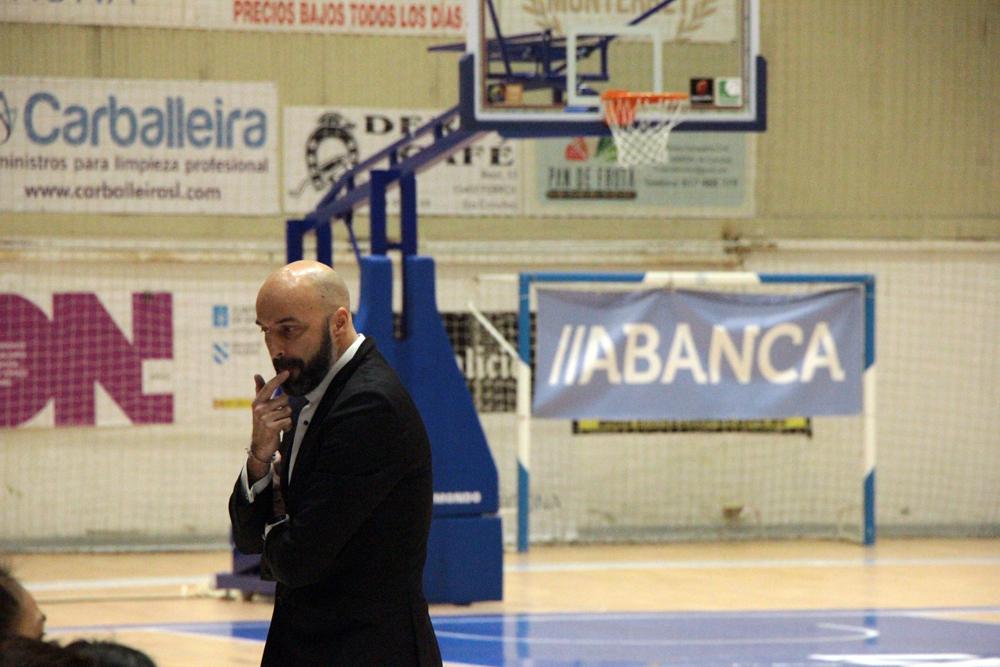 Lino López, adestrador do Baxi Ferrol / WYKAZSZKOWSKI