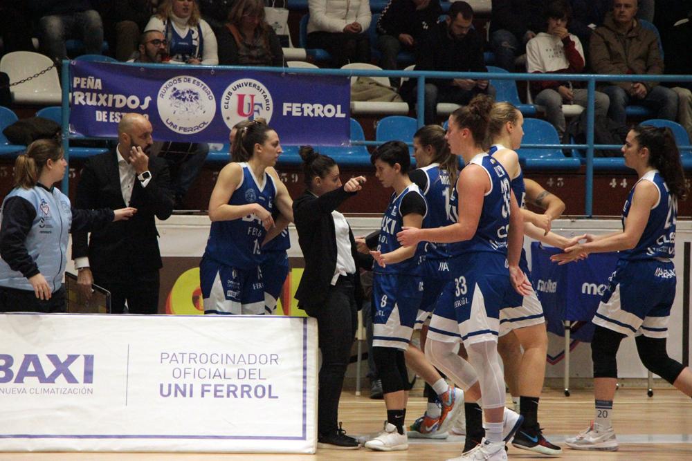 O plantel do Baxi Ferrol na Liga Feminina 2 / WYKAZSZKOWSKI