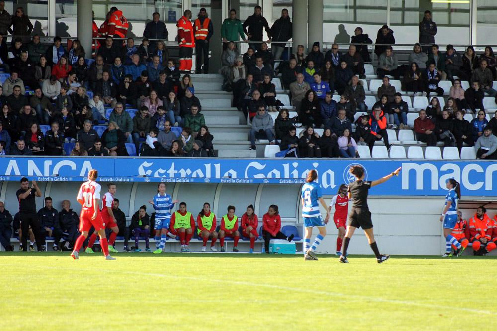RCD ABANCA vs Sevilla en Abegondo / SABELA MOSCOSO