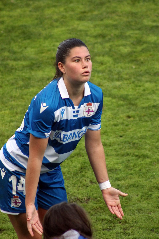 María Méndez, xogadora RC Deportivo ABANCA / SABELA MOSCOSO