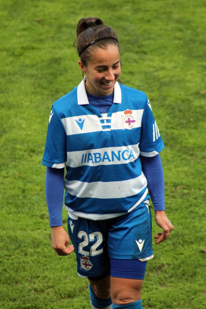 Cris, xogadora RC Deportivo ABANCA / SABELA MOSCOSO