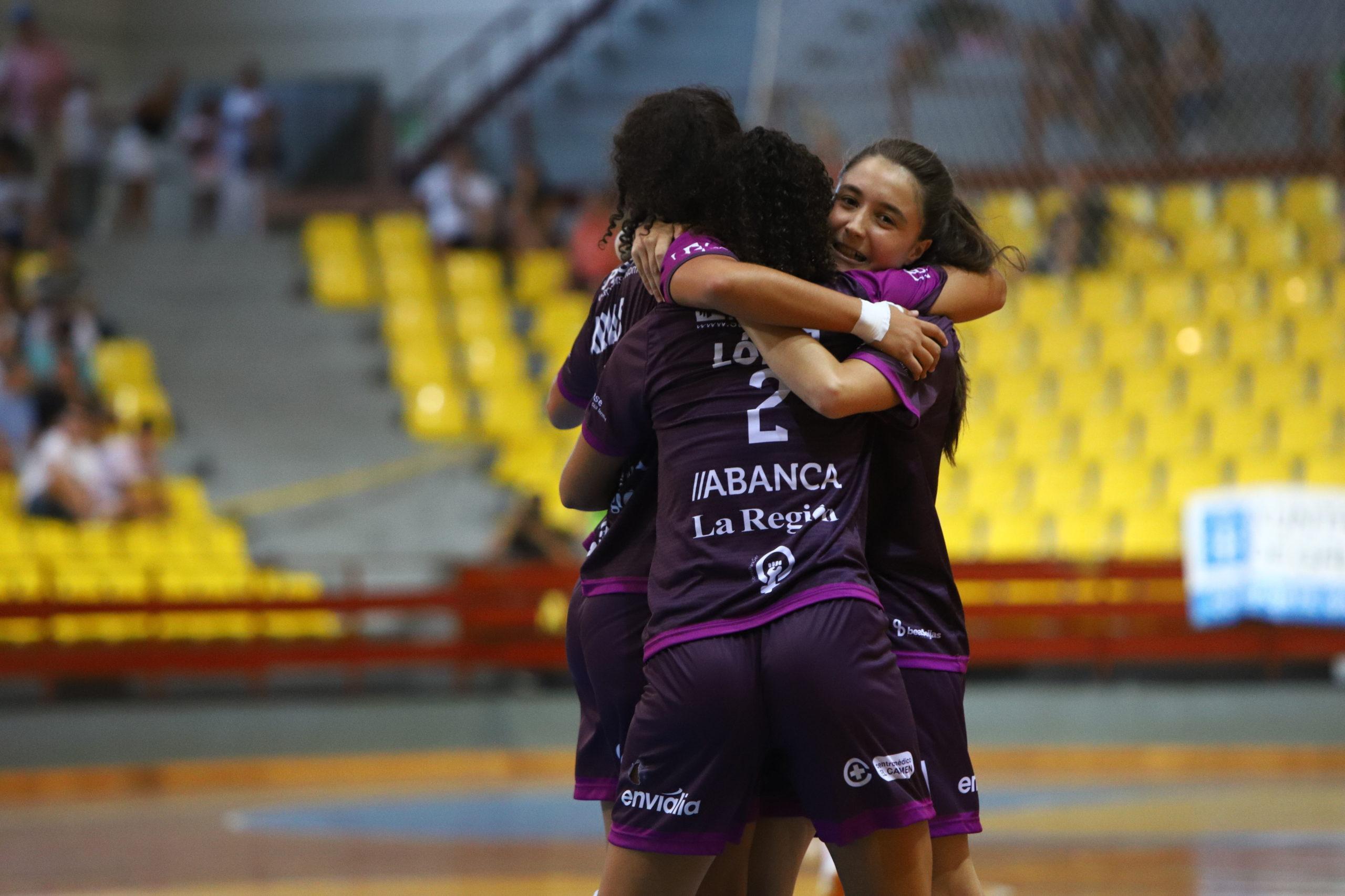 Ourense Envialia contra Cidade de As Burgas Copa Galicia
