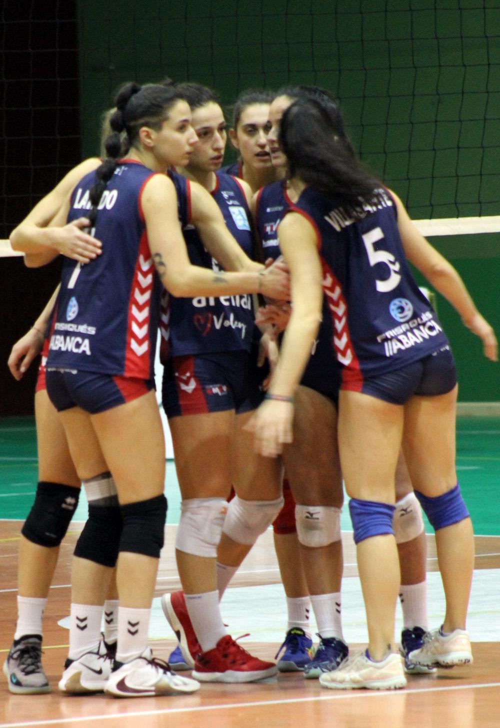 O Arenal Emevé recibe o CV Torrelavega / SABELA MOSCOSO