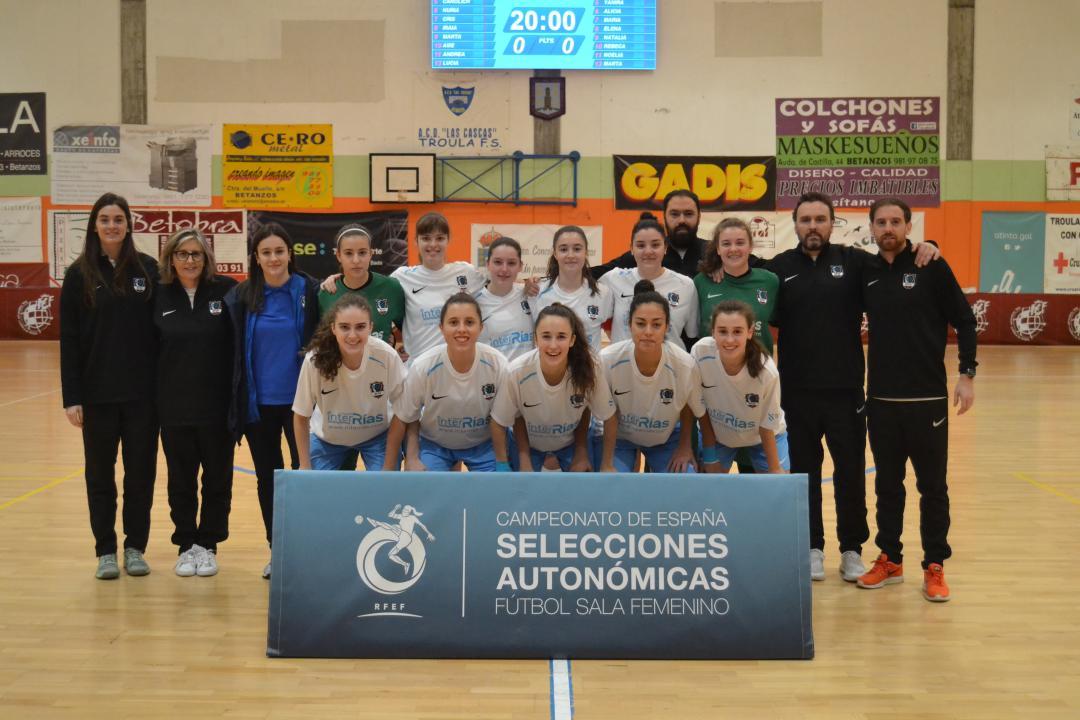 selección galega sub 16 campionato españa