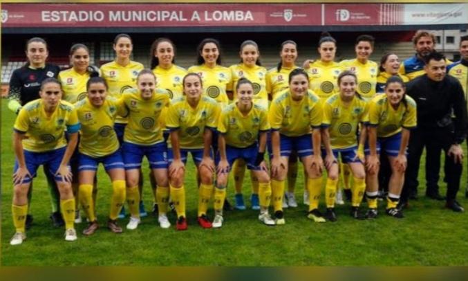 Plantilla Atlético Arousana tempada 19-20