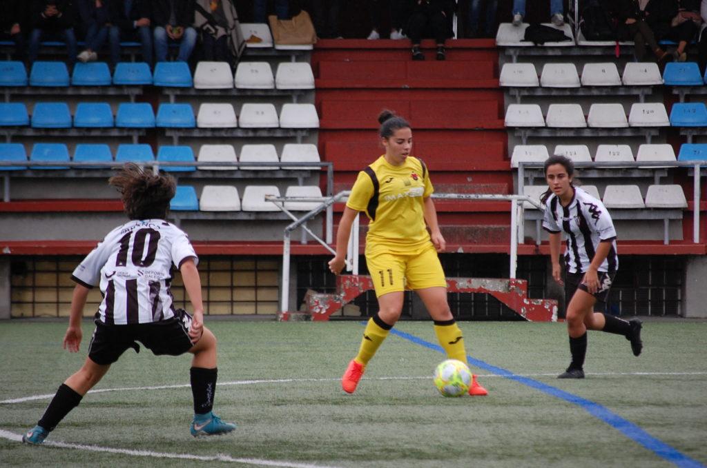 Alba Torres nun partido con Victoria FC