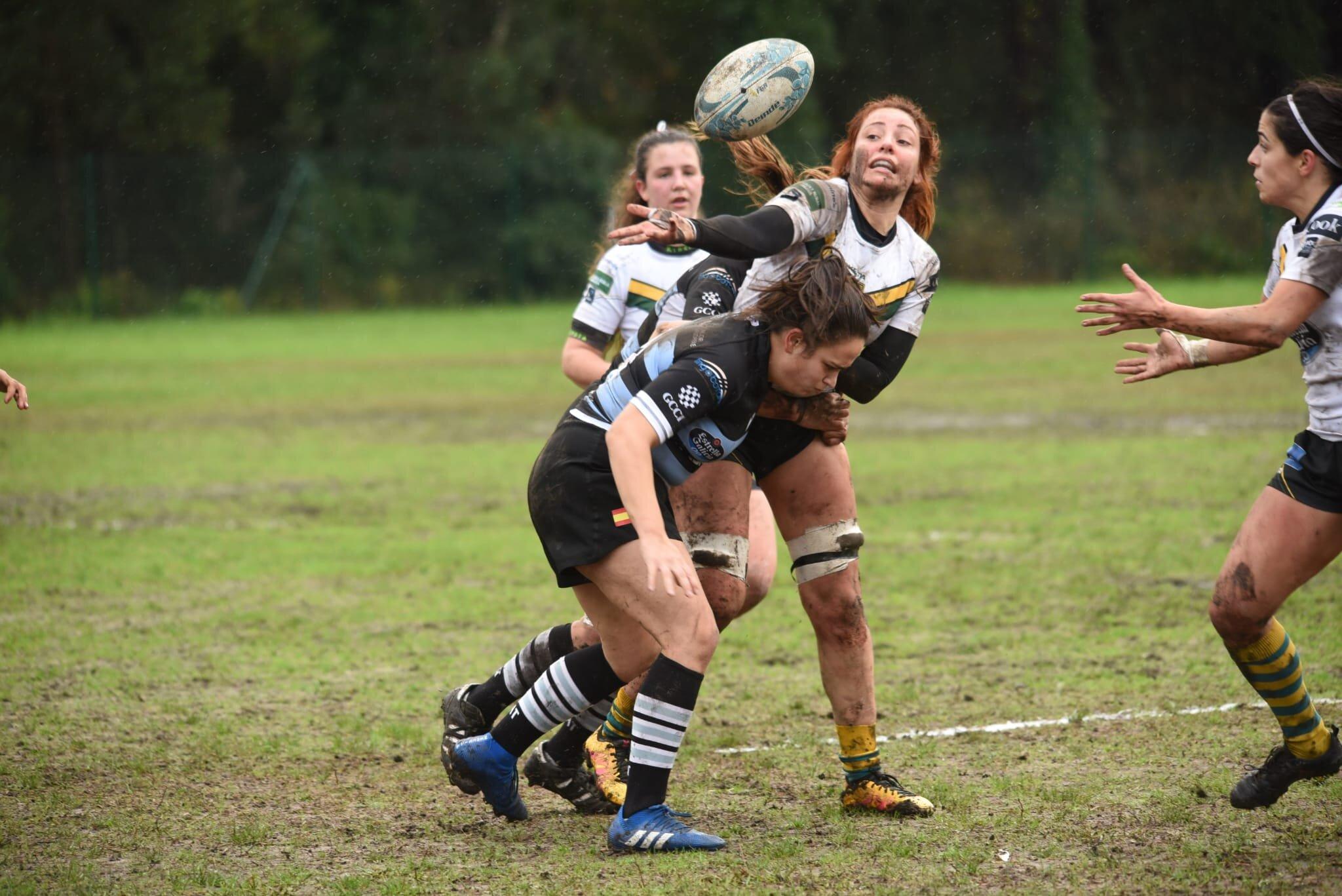 """O CRAT """"B"""" gaña o Muralla RC na liga galega de rugby / MURALLA RC"""
