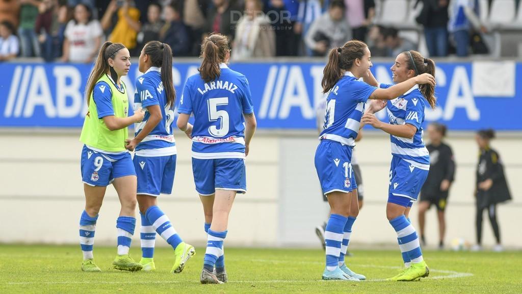 Arnaiz e Athenea nun partido do Deportivo ABANCA