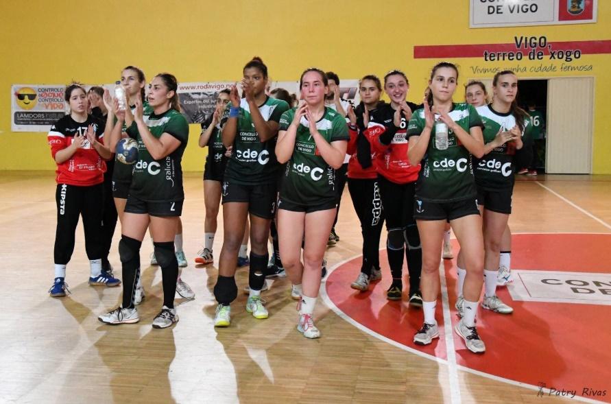 O plantel do CdeC Lavadores na tempara 19-20 da División de Honra Prata / Patry Rivas - CdeC Lavadores