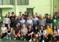 O equipo de cachibol do Aceites Abril / CLUB VOLEIBOL OURENSE