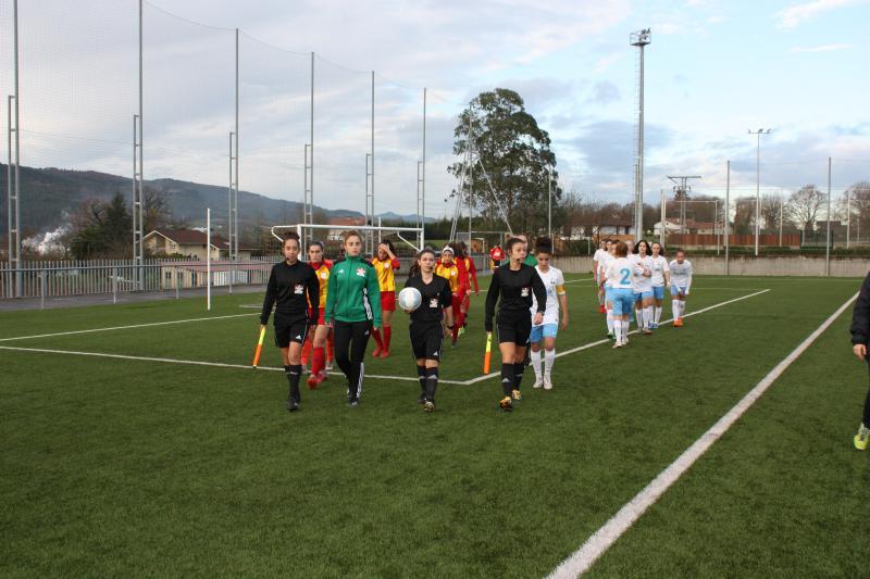 selección galega sub 15 - cataluña