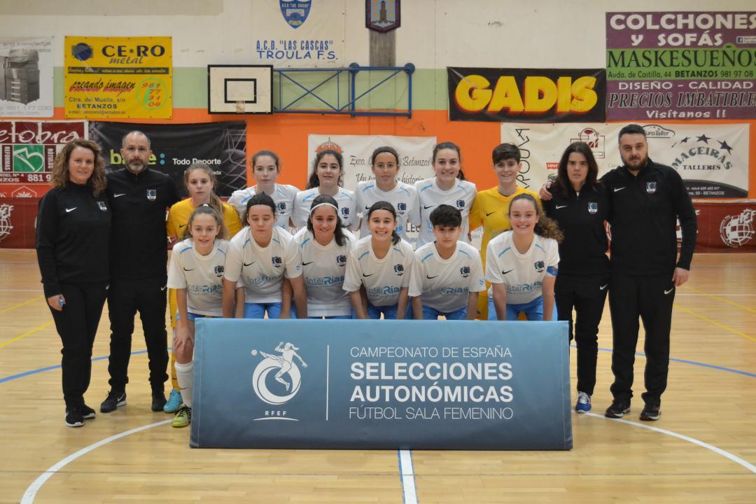 sub 16 e sub 19 contra madrid Campionato España