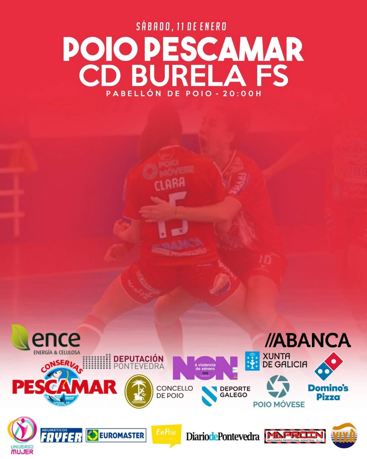 Cartel Poio - Burela