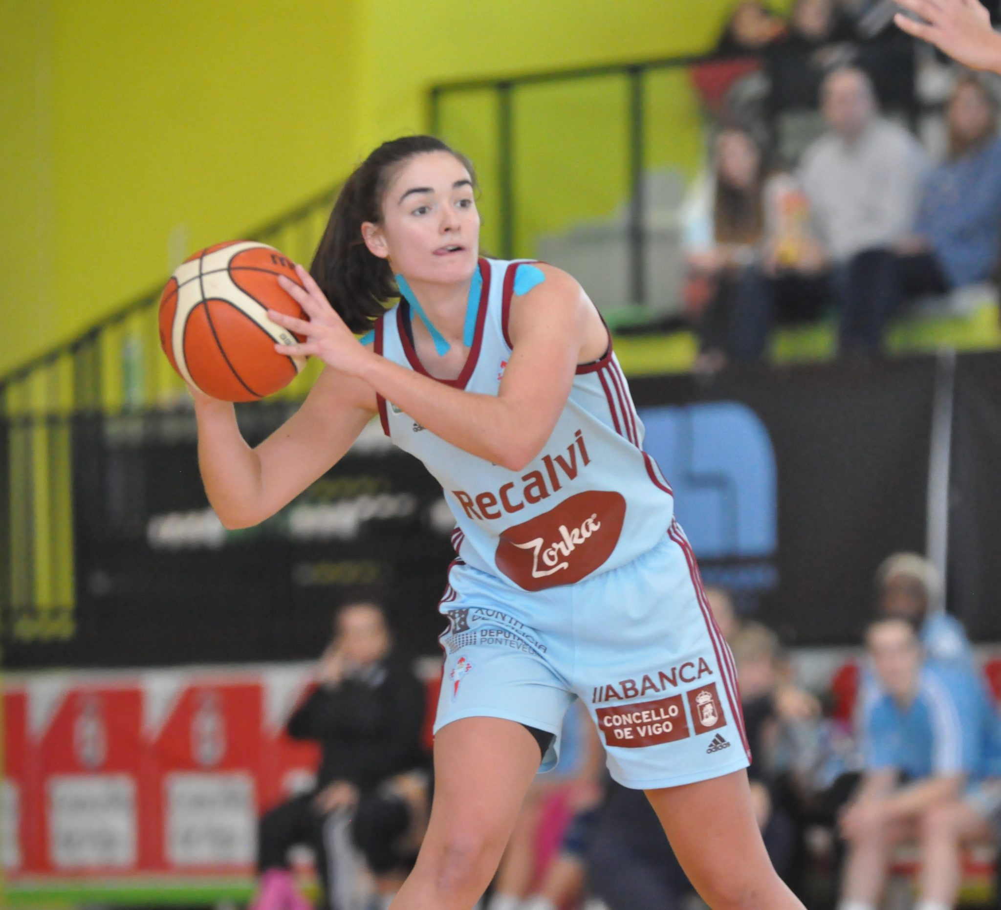 Celia García, a xogadora do Celta Zorka Recalvi / CELTA BALONCESTO