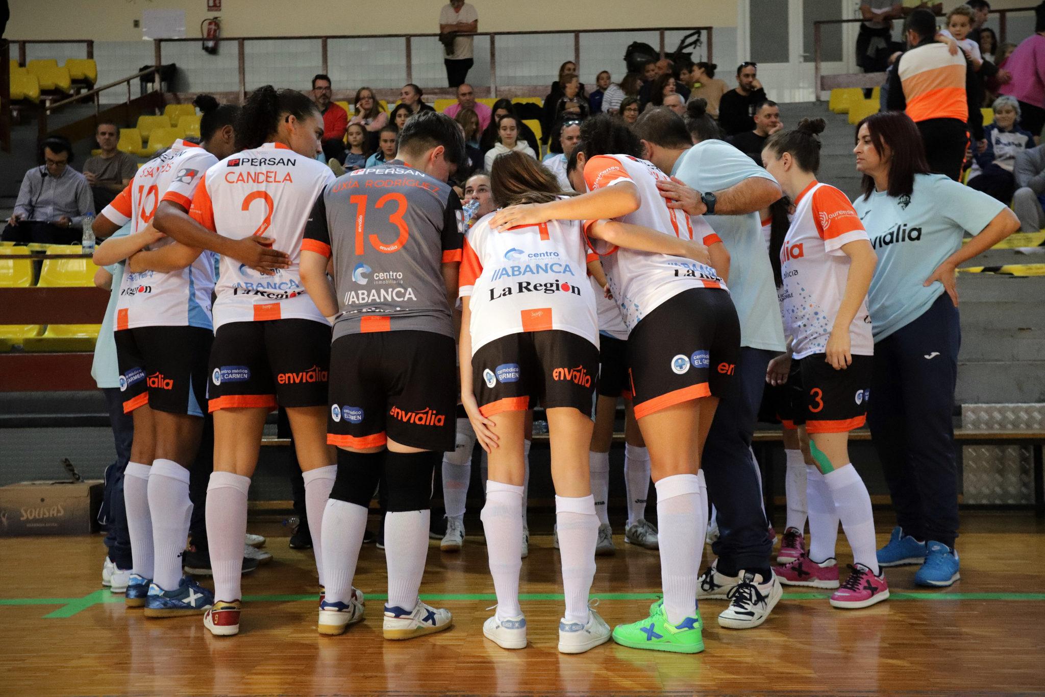 O Ourense Envialia loitará polo título en Málaga