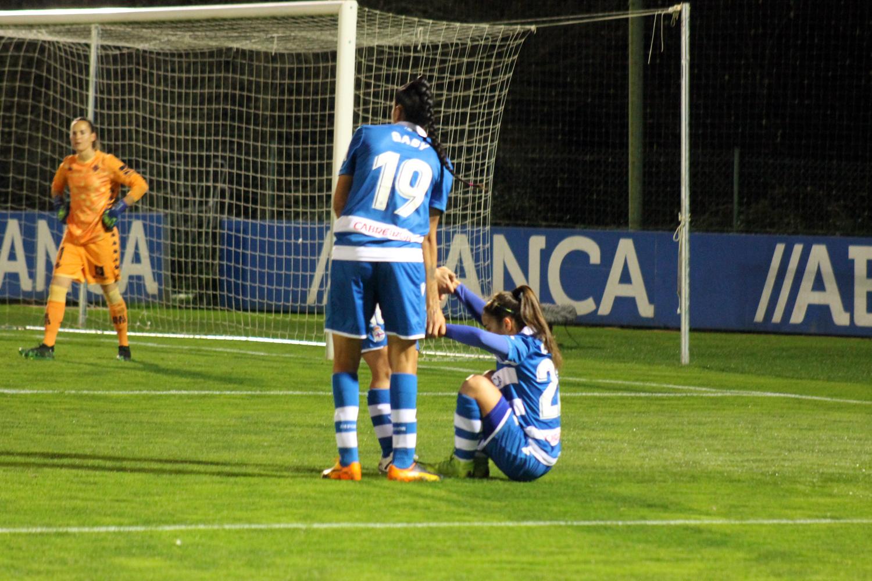 RC Deportivo contra o Real Betis en Abegondo / SABELA MOSCOSO