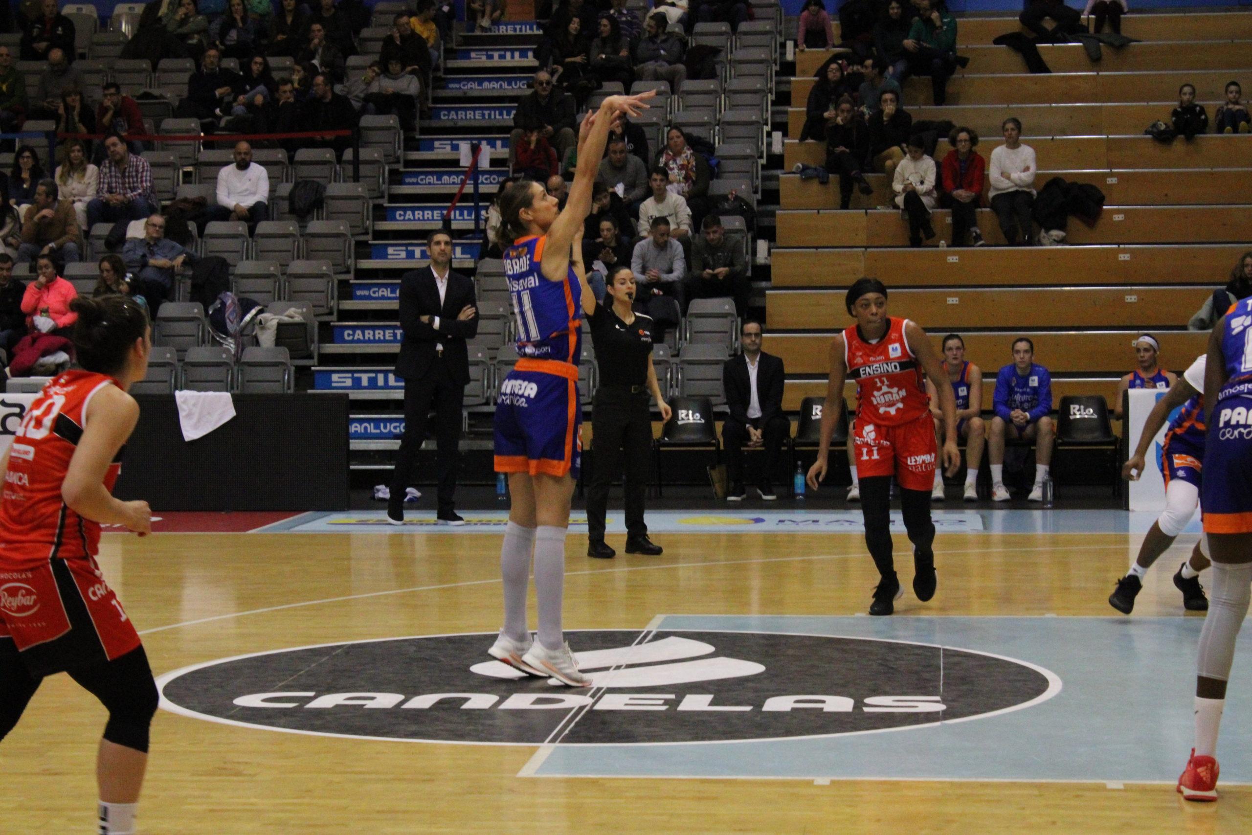 Tamara Abalde, a galega do Valencia Basket estará no preolímpico / PATRI CAMPOS