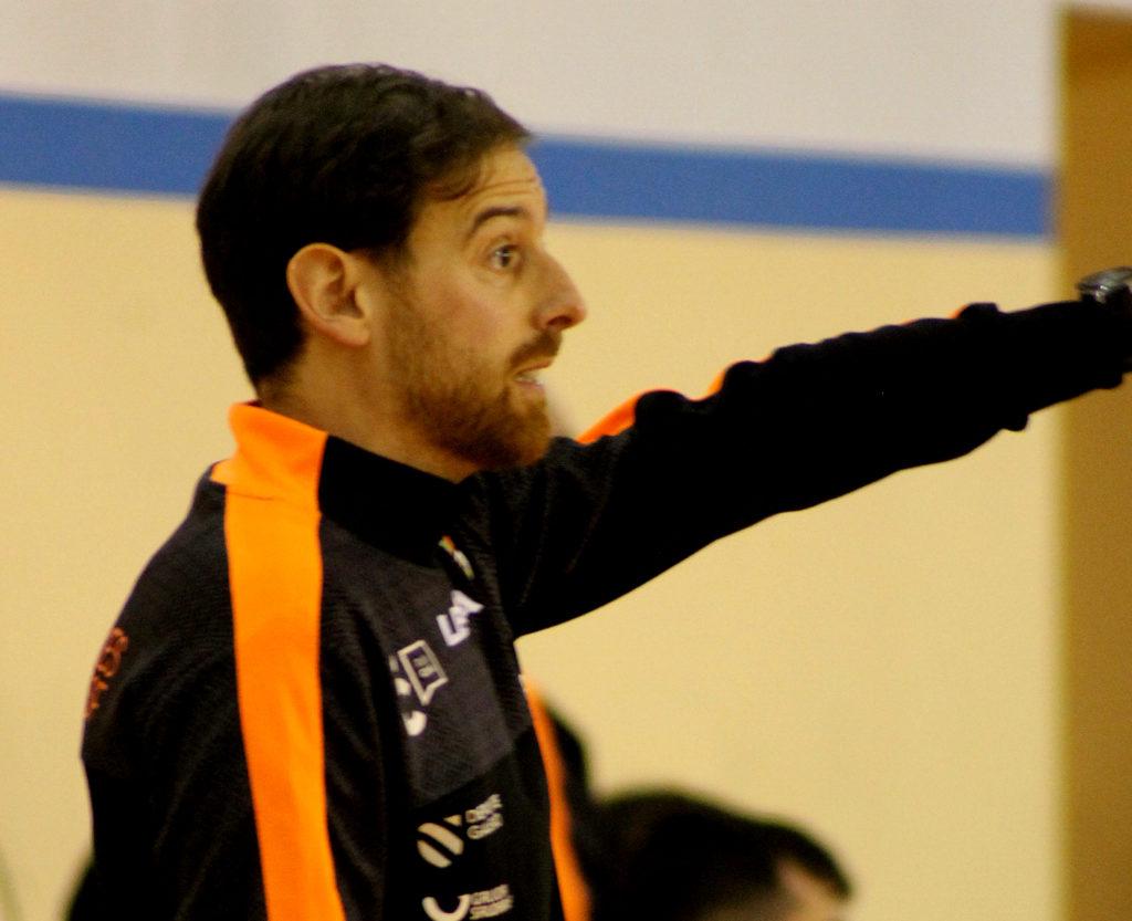 Jorge Basanta, adestrador Viaxes Amarelle / SABELA MOSCOSO