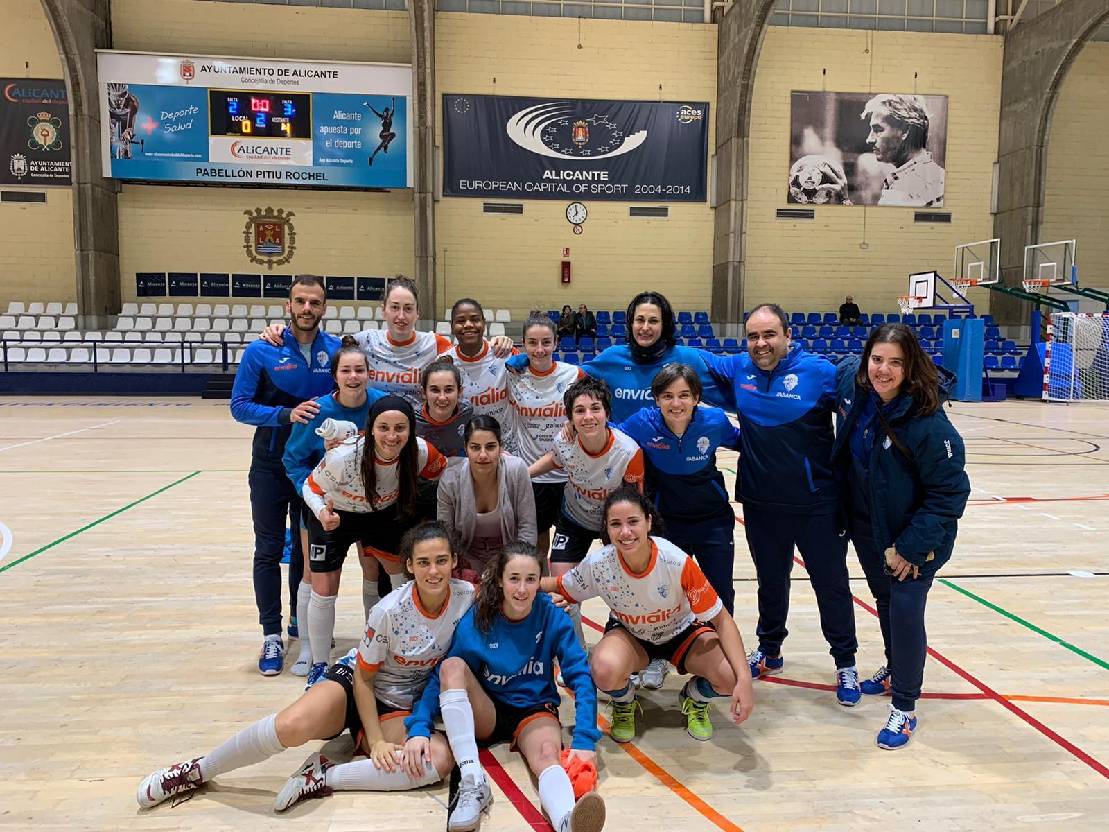 O Ourense Envialia intentará conseguir uns resultados como a anterior campaña