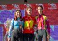 Podio da proba cadete do Campionato de España de ciclocrós / FEDERACIÓN GALEGA DE CICLISMO