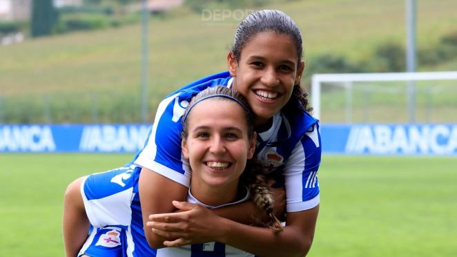 Silvia Mérida y Érika Deportivo ABANCA
