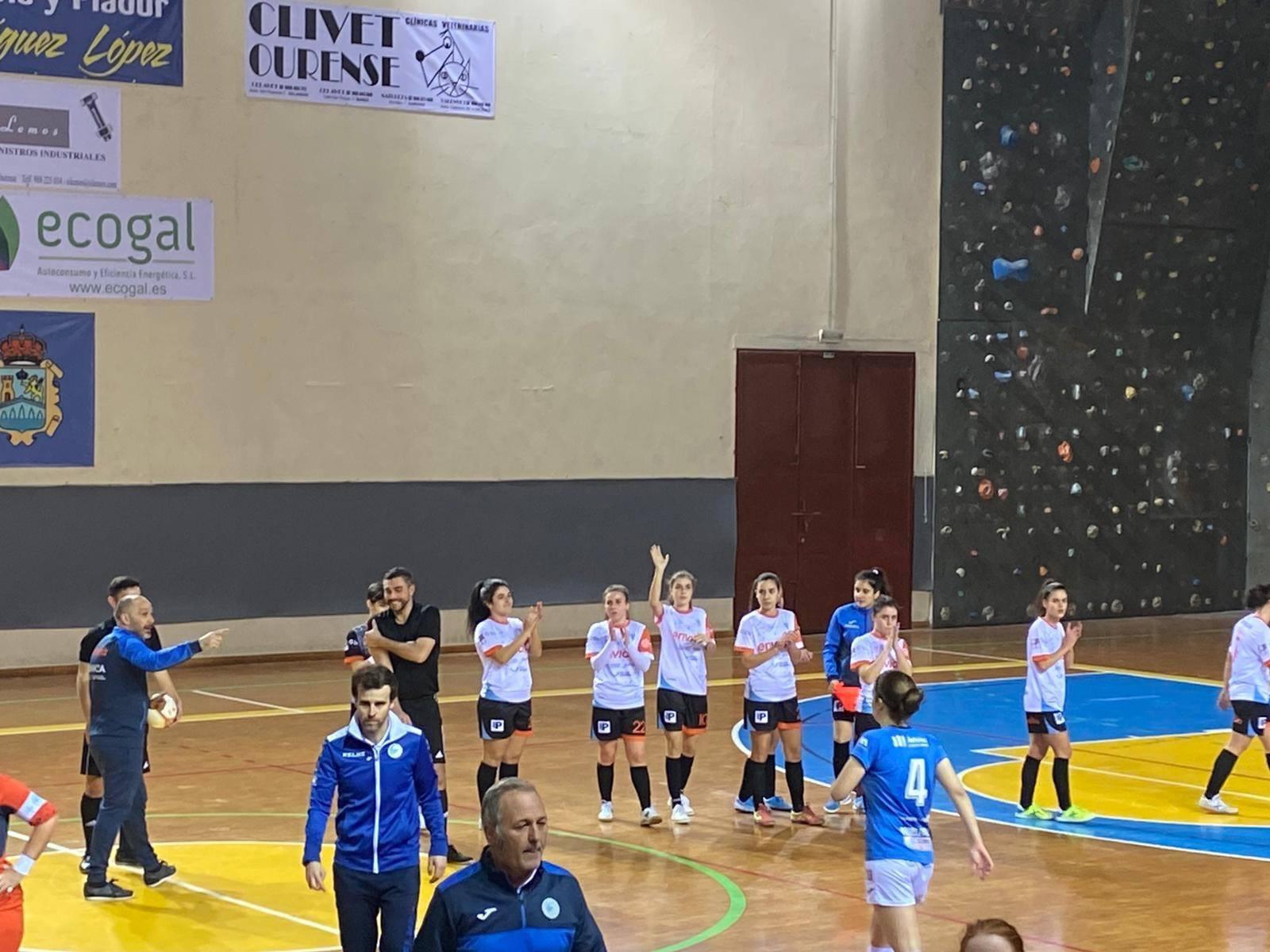 Ourense Envialia B contra o Rodiles