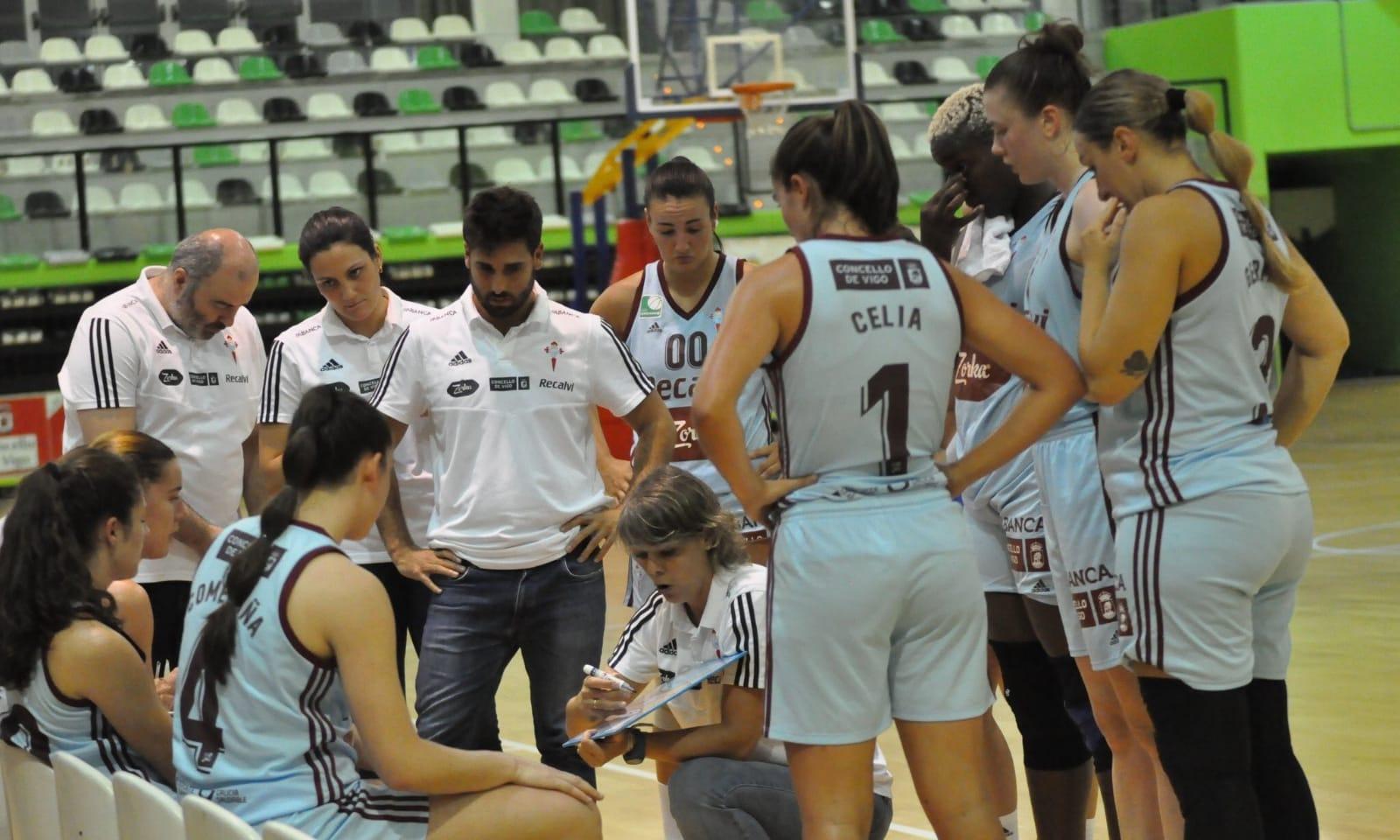 Cristina Cantero, adestradora do Celta Zorka Recalvi / CELTA BALONCESTO