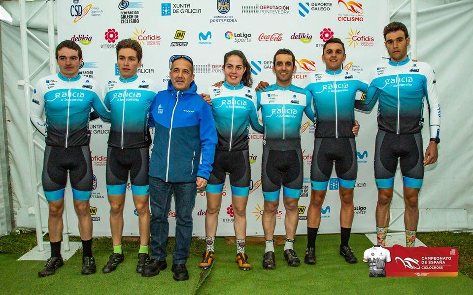 Guillermo Sande, seleccionador galego de ciclocrós