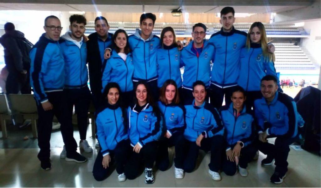 Selección Galega no Cpto de España Sénior e de Para-Karate.