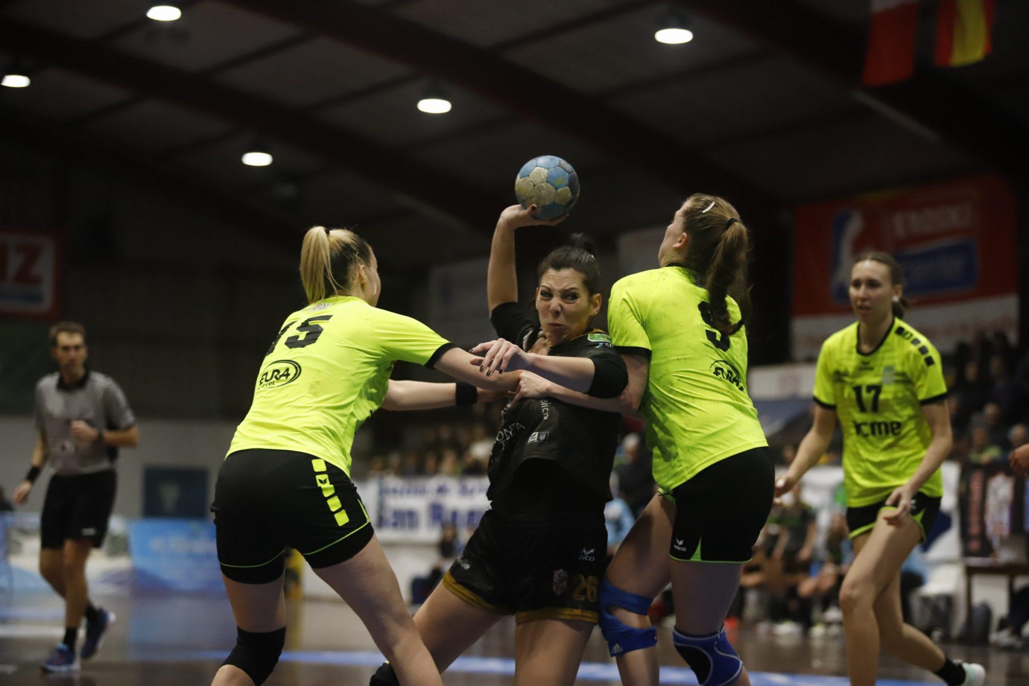 O Guardés xogaba a fase íntegra do Last 16 da Challenge Cup ante o Zalgiris en A Sangriña / COECO.CREATIVE - ATLÉTICO GUARDÉS