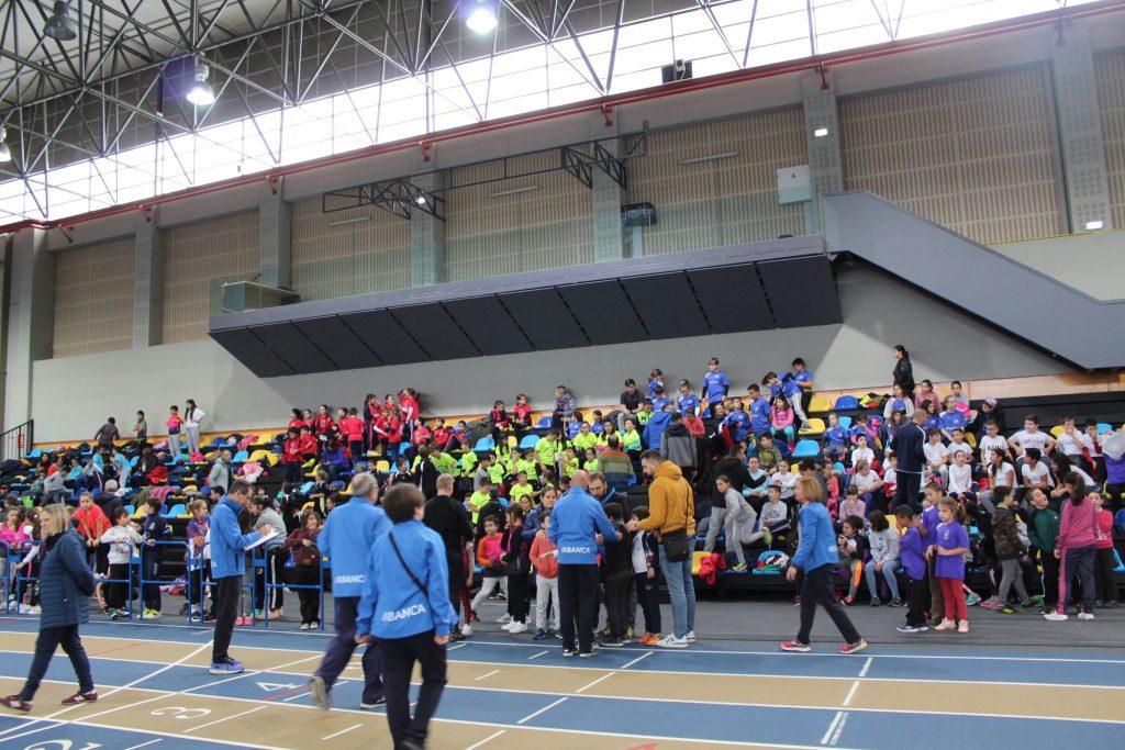 Xogando ó Atletismo estivo en Ourense o pasado mes de novembro / FEDERACIÓN GALEGA DE ATLETISMO