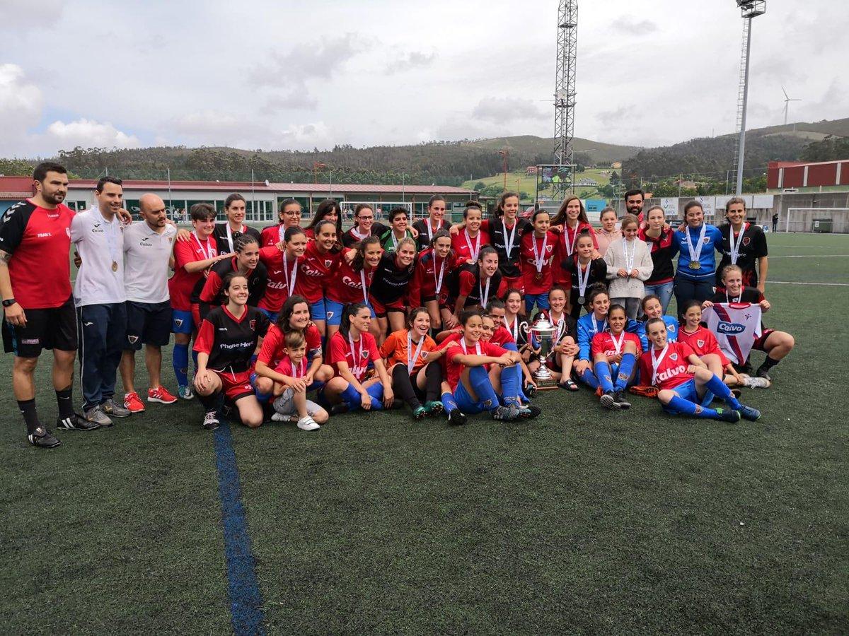 Bergantiños Fc feminino Copa da Costa