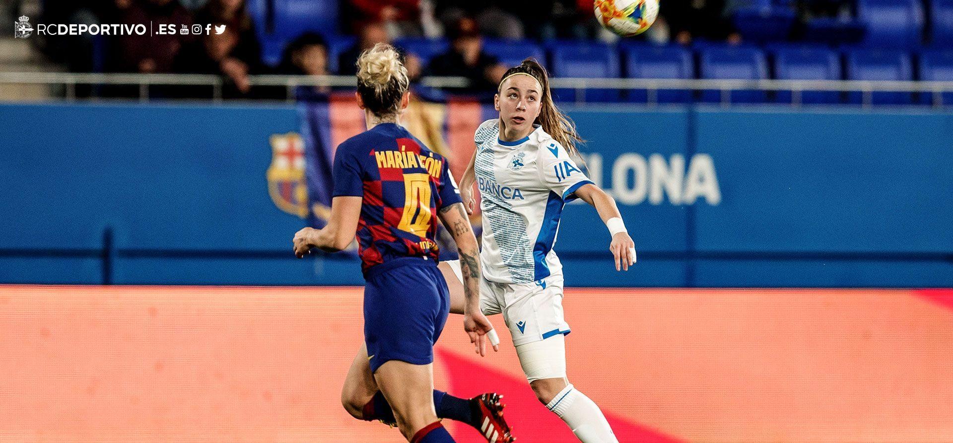 Deportivo ABANCA - FC Barcelona Athenea e Mapi León