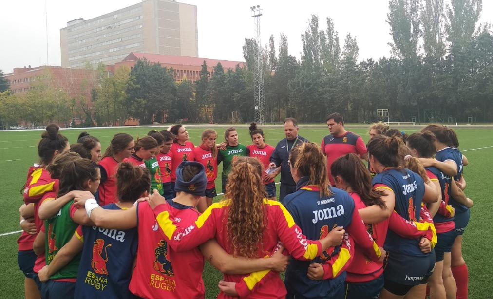 Medín e Castelo adestrarán coa Selección Española de Rugby, Leonas XV / RFER