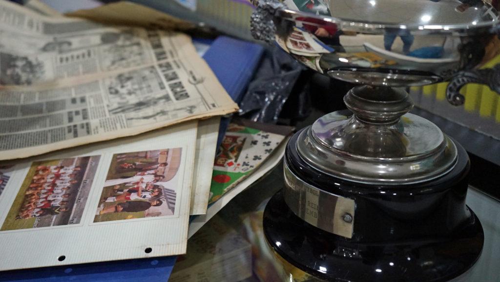 Copa da Raíña do 1981 e recurtes de prensa do Karbo / AS NOSAS
