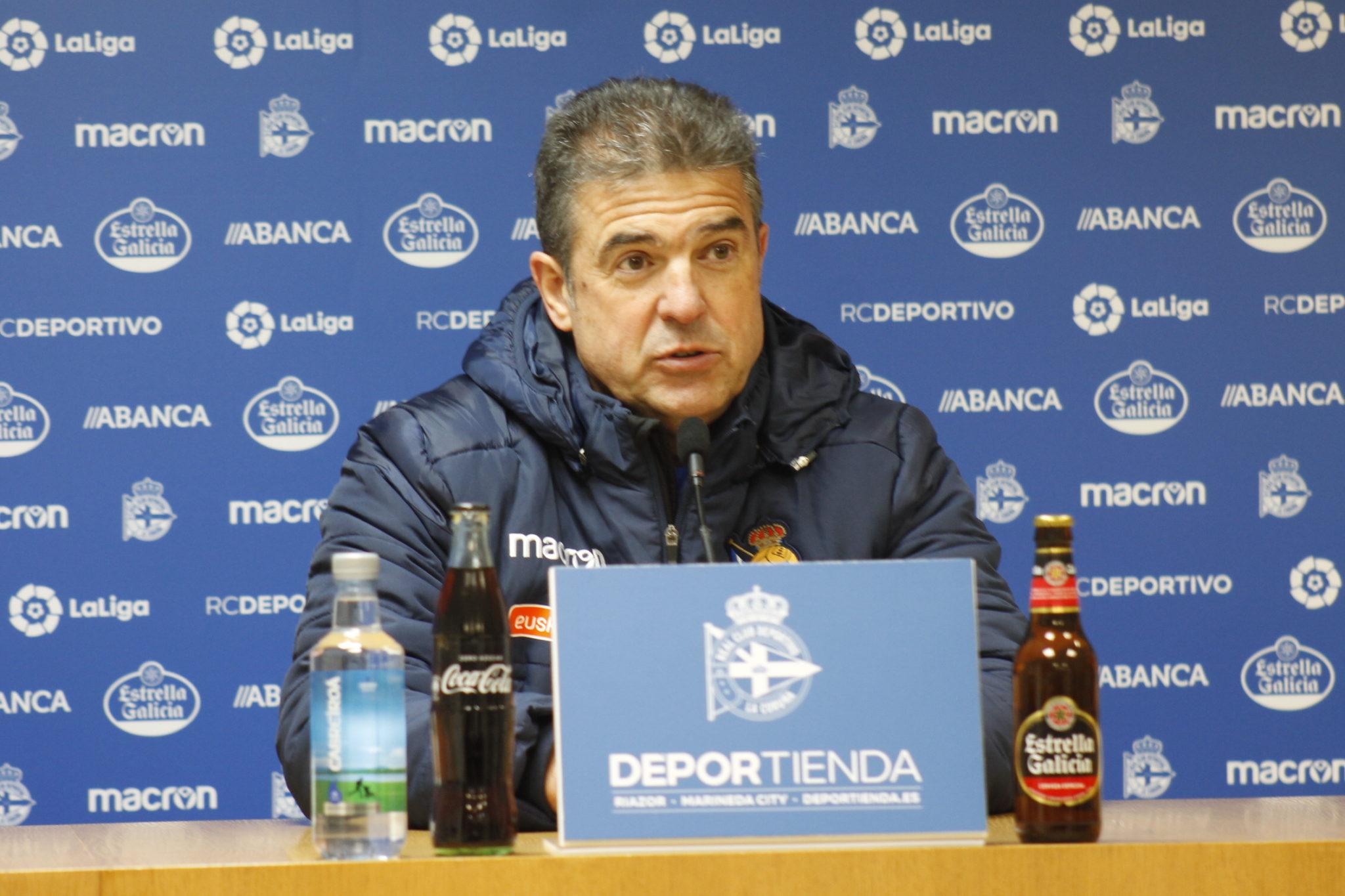 Gonzalo Arconada en rolda de prensa