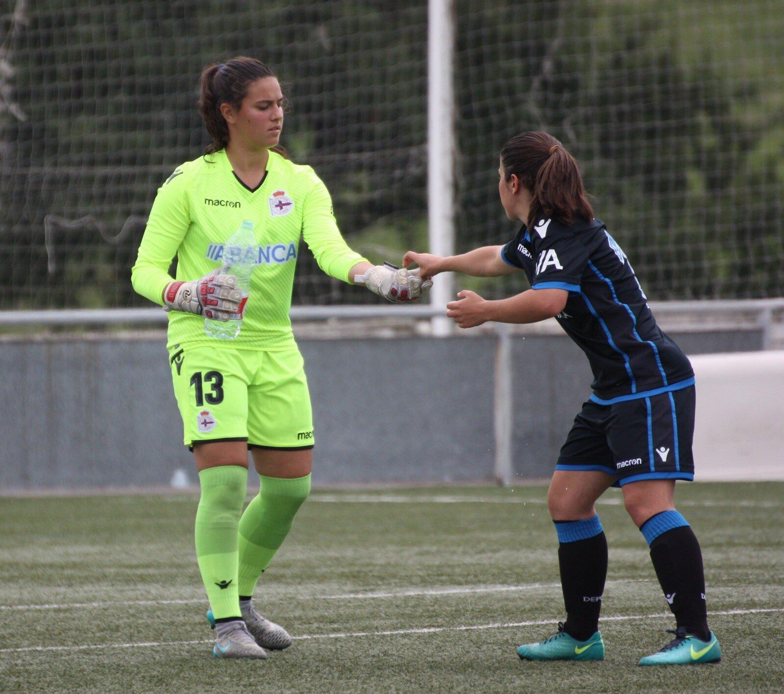 Malena Mieres na súa etapa no Deportivo   MM