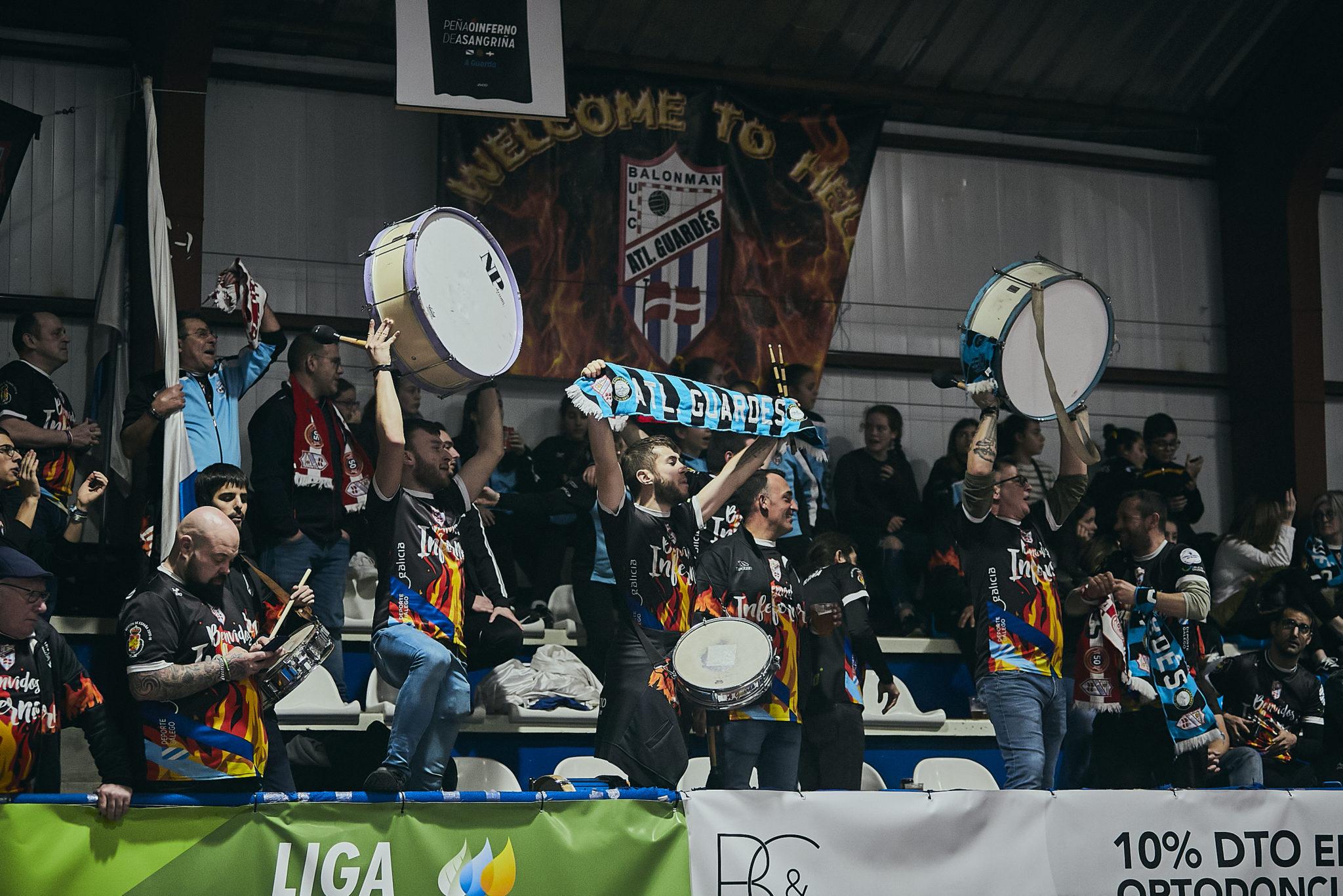 As peñas do Guardés preparan un viaxe a Valladolid pola Challenge Cup / BALONMAN ATLÉTICO GUARDÉS