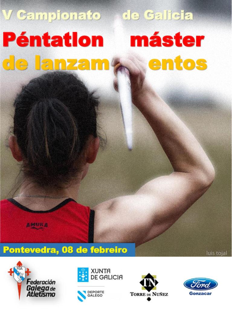 V Campionato de Galicia de Péntatlon de Lanzamentos Máster / FGA