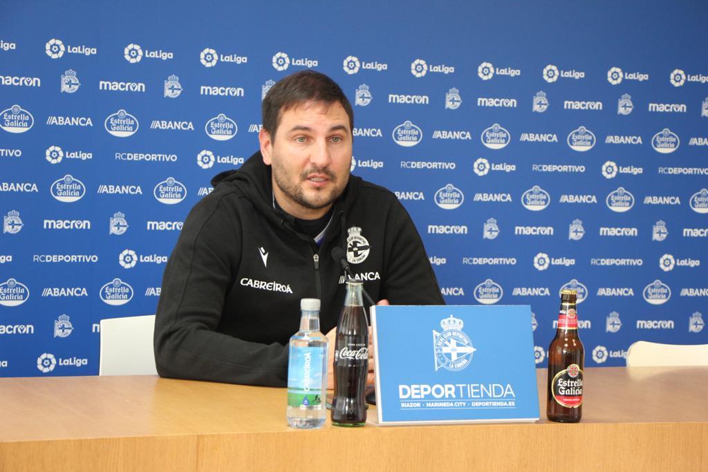 Manu Sánchez Deportivo ABANCA - Sporting Huelva