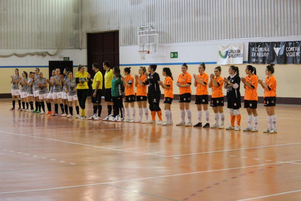 Viaxes Amarelle FSF vs Burela Pescados Rubén FSF, Copa de Galicia / VIAXES AMARELLE