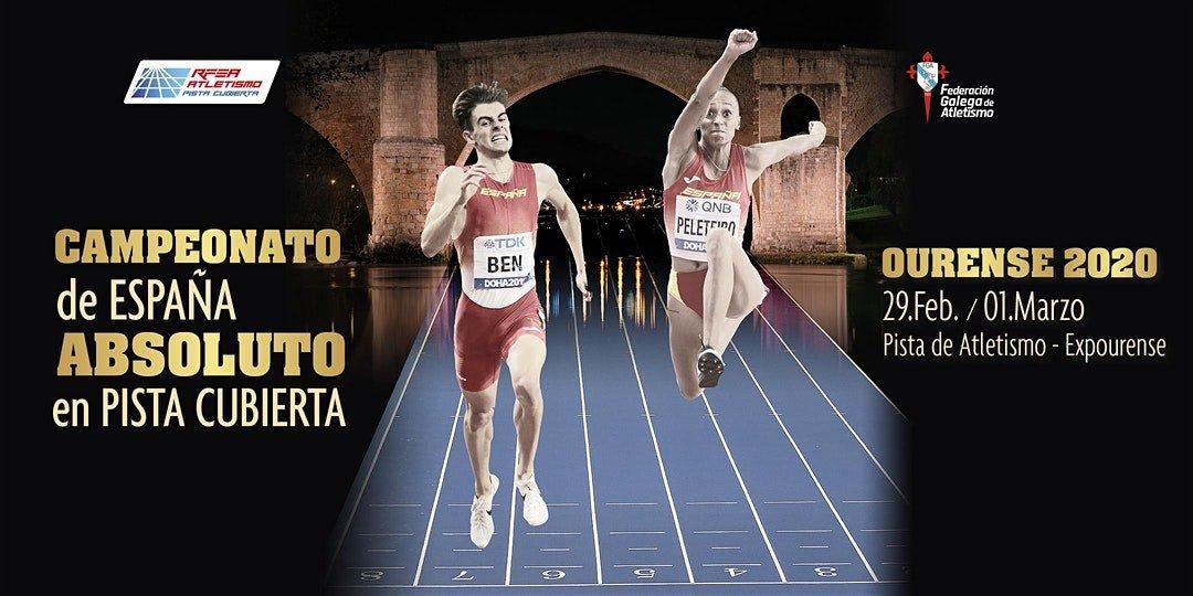 Campionato de España absoluto en pista cuberta Ourense